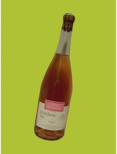 Jus de raisin rosé - Domaine Amiant Anthony