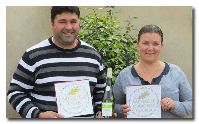 Anthony & Solène Amiant - viticulteurs 44 Nantes Pornic
