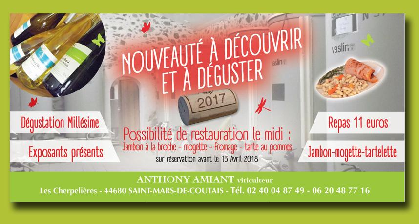 Portes ouvertes viticulteur Nantes sud loire : Anthony Amiant