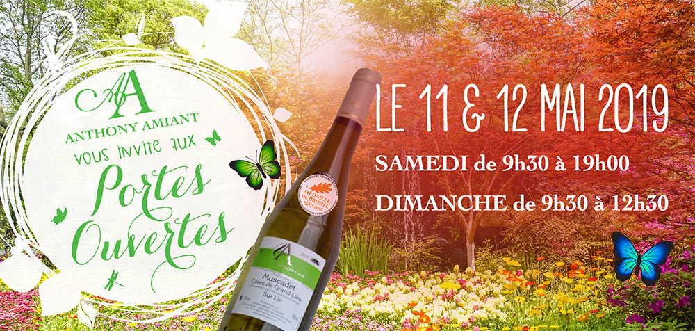 Vins Nantes Sud Loire - Amiant viticulteur mai 2019