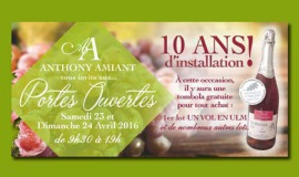Anthony Amiant : 10 ans d'installation